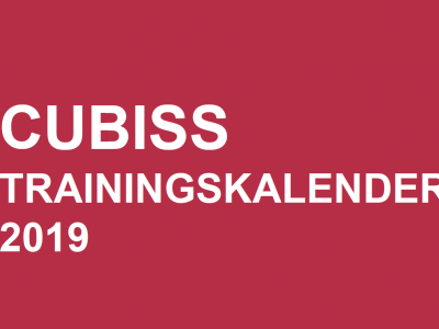 Cubiss trainingskalender Limburg 2019